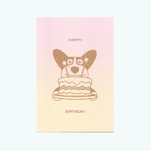 Corgiman 'Happy Birthday' Card